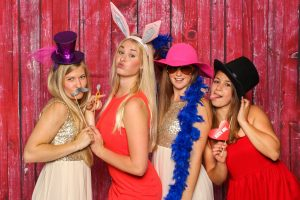 Photo Booth Fun With Props, Boas, Hats and Funny Faces!