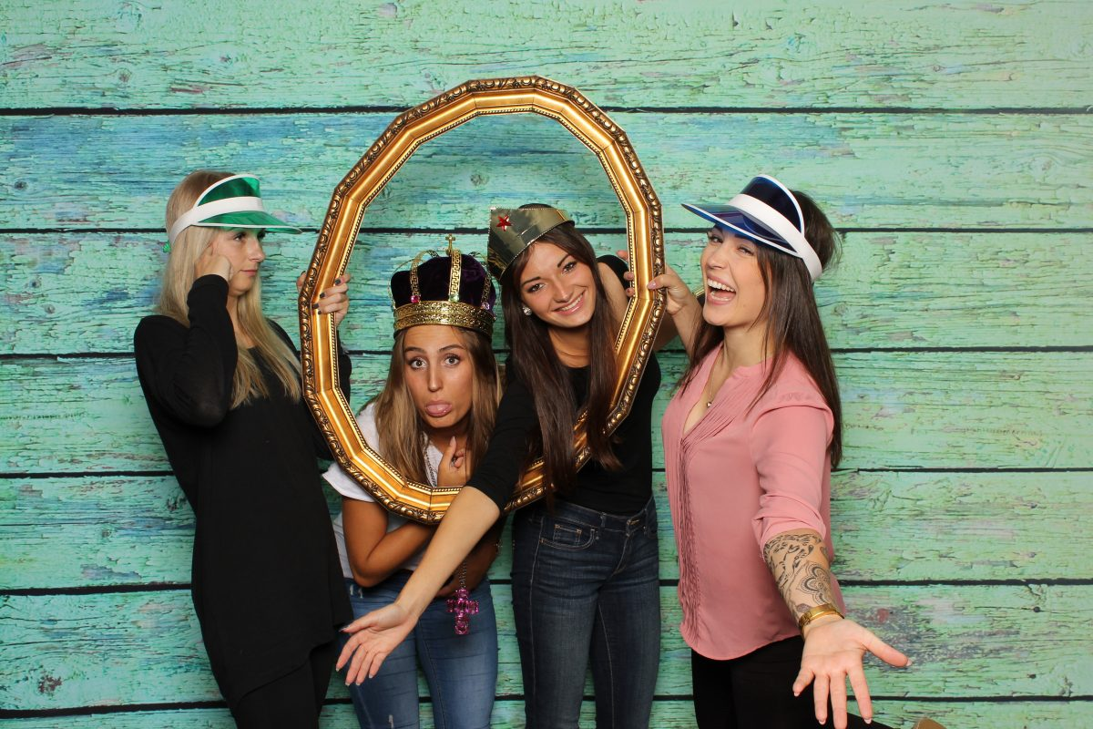 4 Girls Having Fun In My Photo Booth