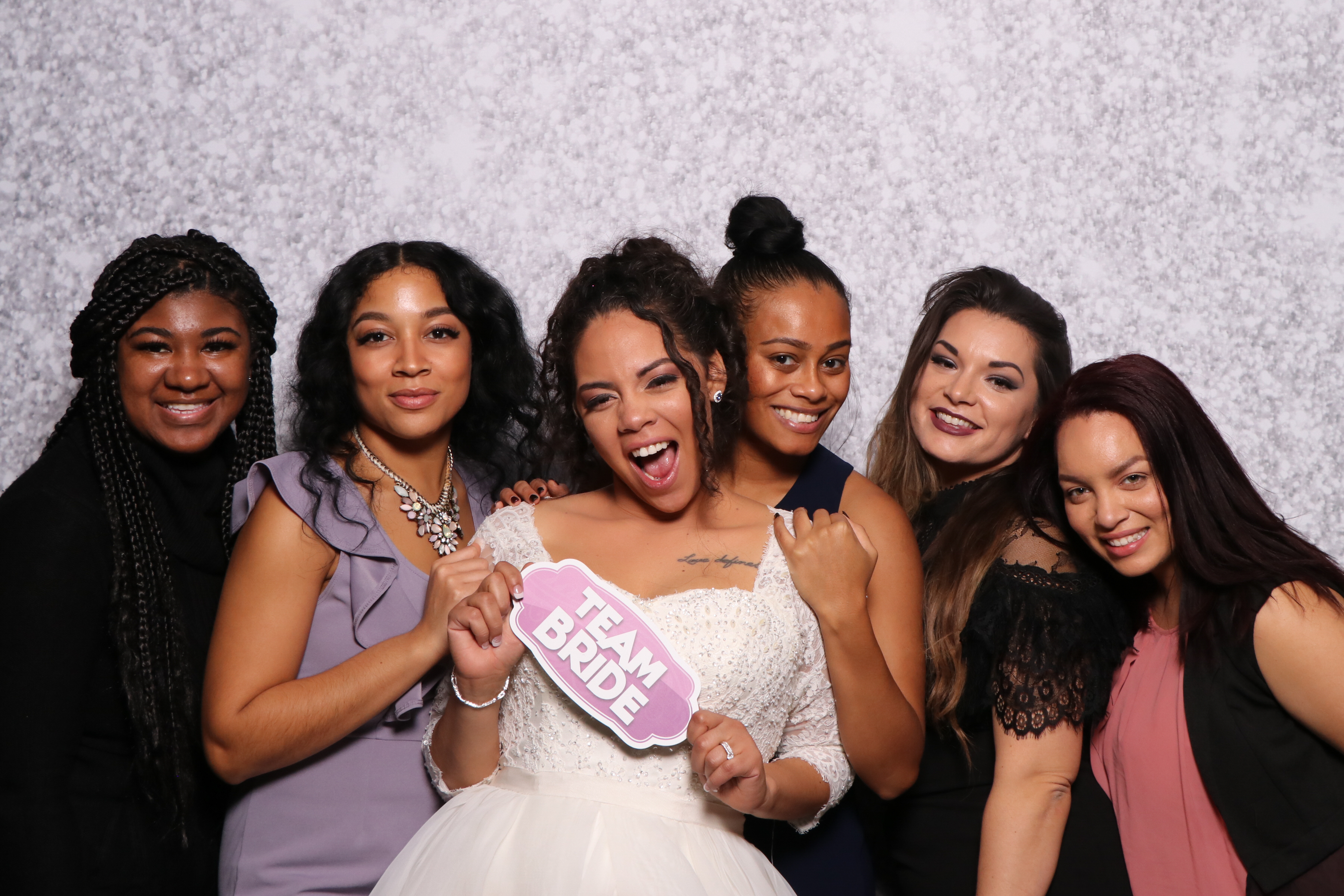 Team Bride In The Photo Booth