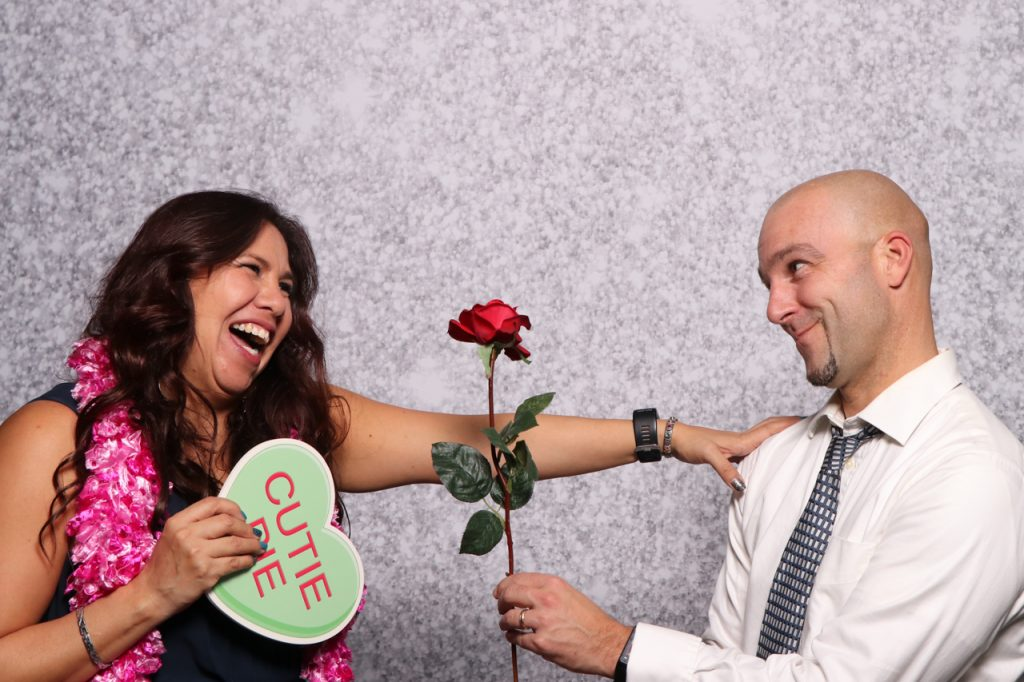 Wedding Photo Booth / I Love You