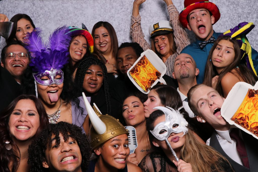 Wedding Photo Booth Large Group
